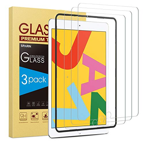 [3 Pack] Screen Protector for iPad 10.2 (2019)