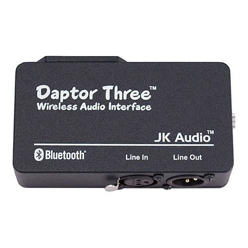 (JK Audio Daptor Three Bluetooth Wireless Audio Interface, 200 Ohms Output Impedance)