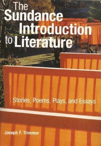 Sundance Intro to Literature