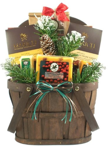 A New England Christmas Holiday Gift Basket