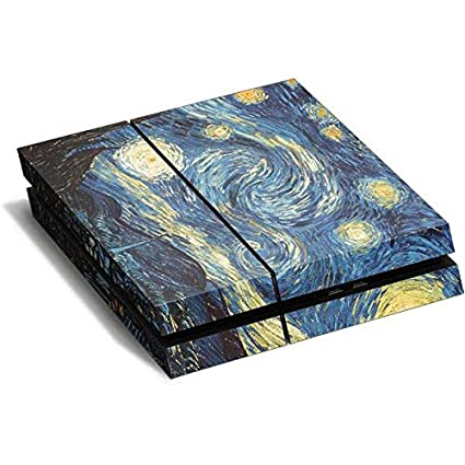 Amazon.com: Van Gogh PS4 Horizontal (Console Only) Skin ...