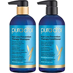 PURA D'OR Hair Loss Prevention Therapy Shampoo & Conditioner