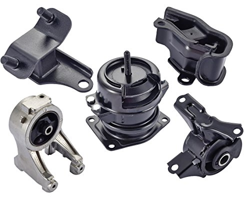 Engine Motor and Trans Mount Set of 5 for 1999-2004 Honda Odyssey 3.5L Compatible with A4519HY A4518 A6552 A6582 - 2003 Motor