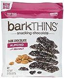 Bark Thins Snacking Dark Chocolate ALMOND with Sea Salt (20 Oz)