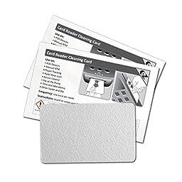 EZ K2-H80B50 CR80 Card Reader Cleaning Card (Box of 50)