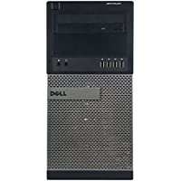 Dell OptiPlex 990 Business High Performance Tower Desktop - CI5 2400 3.1G,8G DDR3,320G,DVD,Windows 10 Pro - Black/Silver - 16VFDEDT0223