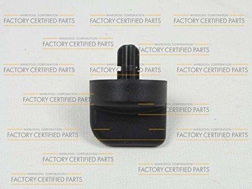 Kitchenaid W9871800 Trash Compactor Start Switch Knob (Black) Genuine Original Equipment Manufacturer (OEM) part for Kitchenaid, Kenmore, Maytag, Black