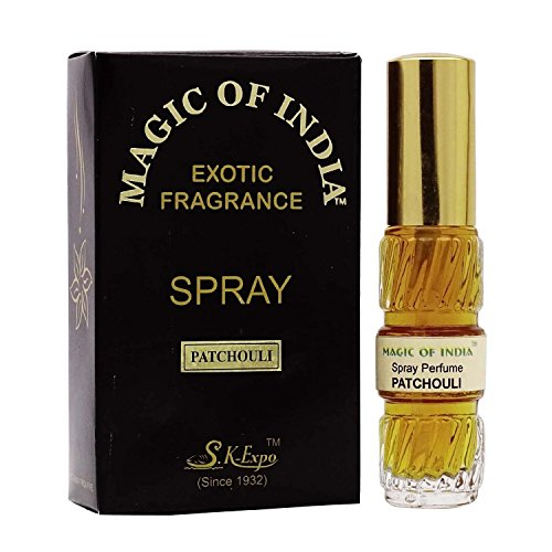 (Magic Of India Patchouli Natural Exotic Fragrance Perfume Spray - 20)