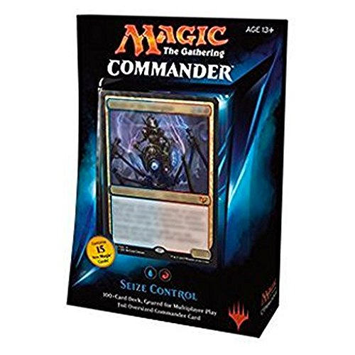 MTG Commander 2015 Edition Magic the Gathering - Seize Control Blue Red Deck New Sealed