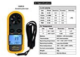 CestMall Digital Anemometer Handheld LCD Air Wind
