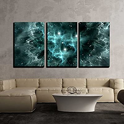 Space Nebula x3 Panels 24