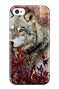 Rowena Aguinaldo Keller's Shop New Arrival Gray Wolf For Iphone 4/4s Case Cover