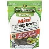 Pet Botanics Mini Training Rewards Grain-Free Salmon Treats for Dogs (1 Pouch), 4 oz