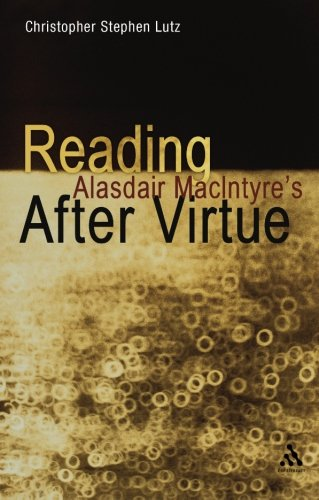 Reading Alasdair MacIntyre's After Virtue