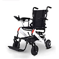 Portable Lightweight Electric Wheelchair Folding Smart Elderly Disabled Propelled Wheelchair Portable Aluminum Alloy Wheelchair