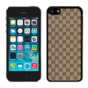 Fashionable And Beautiful Designed Case For iPhone 5C With GU CCI 17 Black Phone Case