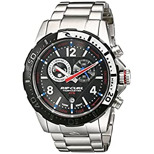 Rip Curl Men's A1113 Stainless Steel Watch with Link Bracelet