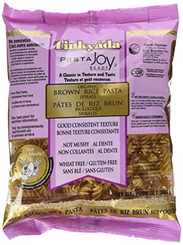 Tinkyada Gluten Free Organic Brown Rice Pasta Spirals, 12-Ounce (Pack of 6) ()