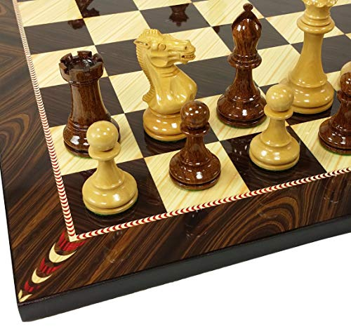 (4 Queens Sheesham Lacquered 3 3/4
