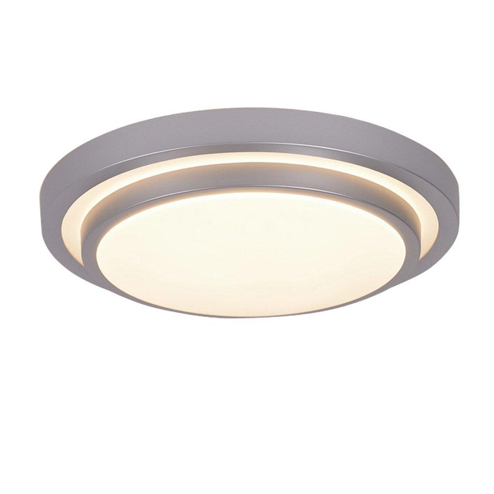 AFSEMOS LED Flush Mount Ceiling Light, 8.3'',12W(50W Equivalent),950lm,3000K(Warm White),120V,Round Led Ceiling Lighting for Kitchen Bathroom Dining Room