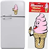 Mister Shivers Ice Cream Cone Magnet by Accoutrements
