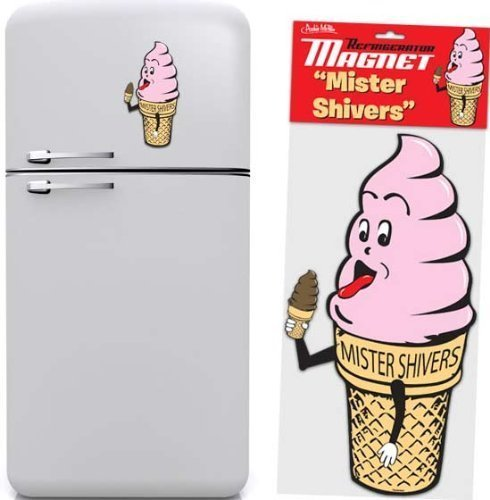 Mister Shivers Ice Cream Cone Magnet by Accoutrements by Accoutrements