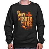 The Way of Truth Christian T Shirt | Jesus Christ Bible God Sweatshirt