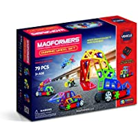 Magformers 79Pc. Vehicles Dynamic Wheel Set