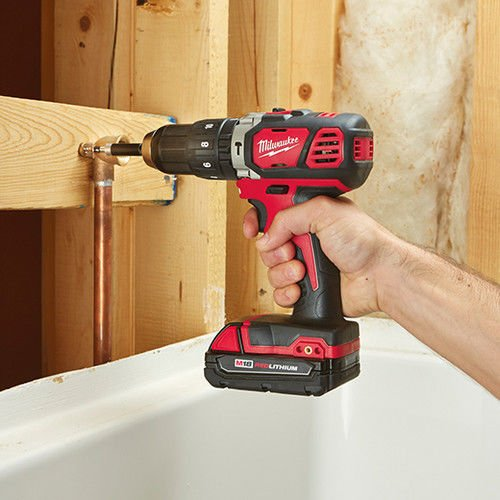 Milwaukee M18 Compact 1/2'' Hammer Drill/Driver Kit (2607-22CT) by Milwaukee Electric Tool (Image #3)