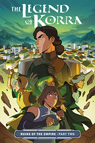 The Legend of Korra: Ruins of the Empire Part Two (The Legend Of Korra Turf Wars Read)