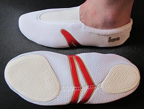 IWA-Gymnastikschuhe - Zapatillas de danza para mujer weiss
