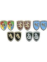 Crest Earrings 5 Pair Set. Harry Potter