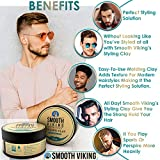 Hair Clay For Men | Smooth Viking Hair Styling Clay