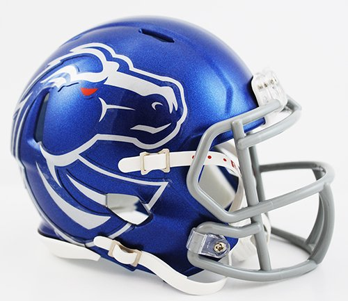 NCAA Boise State Broncos Speed Mini Helmet (Riddell State Replica Mini)