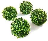 Blaak Penny Decorative Balls by (4 Balls, 4'' Boxwood Ball)