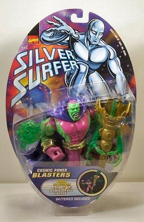 Marvel Comics Silver Surfer Drax with Light Up Cosmic Skull Blaster