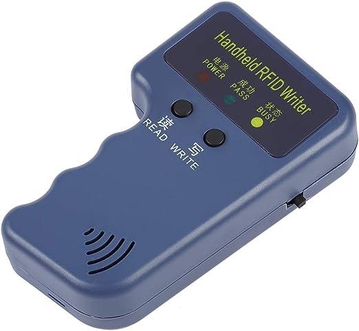 Portable Handheld RFID Card Writer//Copier Duplicator for 125KHz RFID Cards