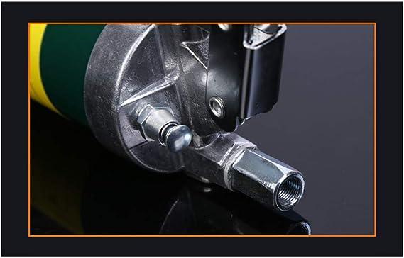 Verde ZQYR ToolKit# Prensa de engrasado Manual Palanca 10000PSI Capacidad de 400 CC con Manguera Flexible y Tubo de extensi/ón 001927