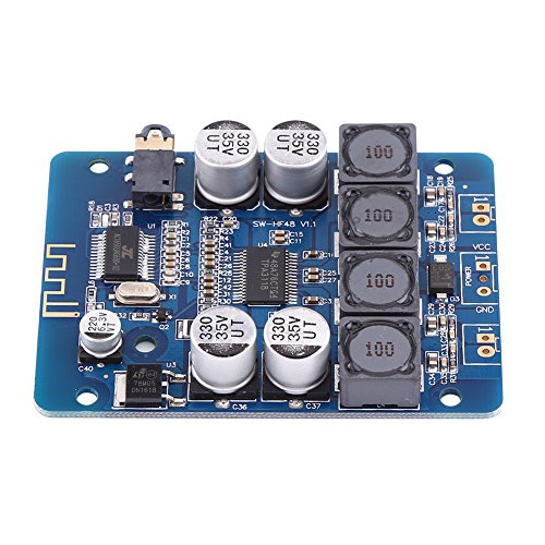 Power Amplifier Board, Asixx Dual Channel Power Amplifier TPA3118 30W+30W 8V~26V DC Dual Channel Wireless Digital Amplifier Board -