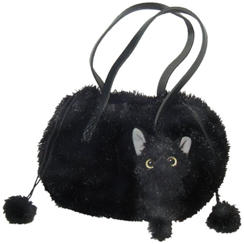 Drawstring bag wind black cat with a Like (japan import)