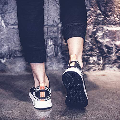 Trekking X5 Sportive Corsa Unisex Respirabile grigio Da Sneakers Fitness Basse Shoes Adulto Running Ginnastica Gudeer Mesh Scarpe Donna Uomo Tennis Outdoor Sport RXUYq