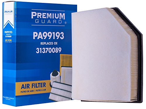 PG Air Filter PA99193 | Fits 2017-19 Volvo S90, 2018-19 V90, 2017-19 V90 Cross Country, 2016-19 XC90, 2019 XC60
