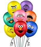 """32PCS Sesame Inspired Balloons Party Supplies 12"""" Latex Balloons for Kids Baby Shower Birthday Party Decorations"""