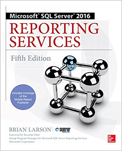 Amazon com: Microsoft SQL Server 2016 Reporting Services, Fifth