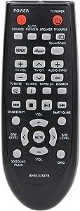 Gvirtue AH59-02547B Universal Remote Control for Samsung Soundbar/Home Theater AH68-02644D-00 HW-F450 HW-F450ZA HW-FM45 HW-FM45C PS-WF450 HWF450 HWF450ZA HWFM45 HWFM45C PSWF450 AH6802644D00 HW-F450/Z