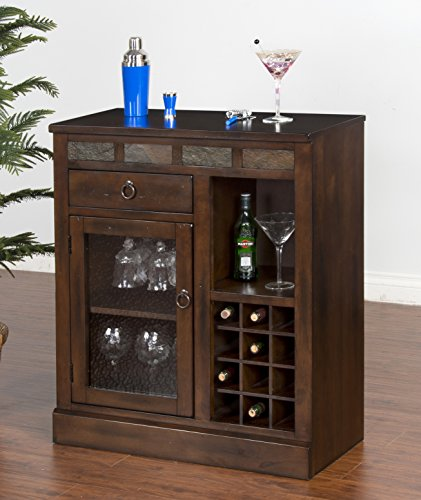 mini bar wine rack - 8