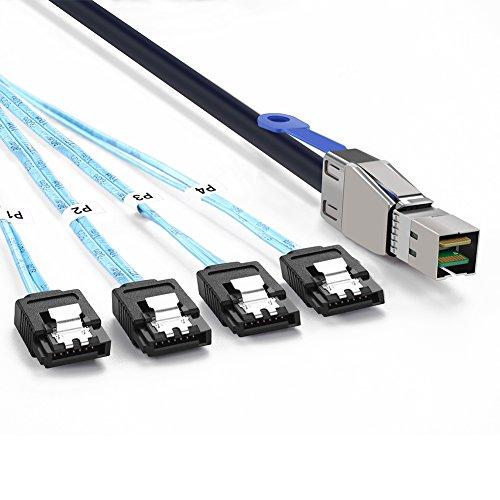 UGREEN Mini SAS to Sata Cable External Mini SAS HD SFF 86...