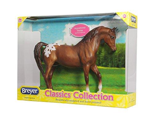 "Breyer Freedom Series (Classics) Chestnut Appaloosa Horse | Model Horse Toy | 1:12 Scale (Classics) | 9"" L x 6"" H | Model #937"