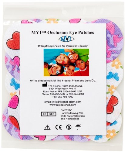 MYI Occlusion Eye Patches – Girls #1, Regular Size (51 Per Package), Health Care Stuffs