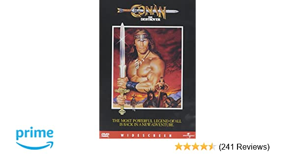 Amazon com: Conan the Destroyer: Arnold Schwarzenegger, Grace Jones